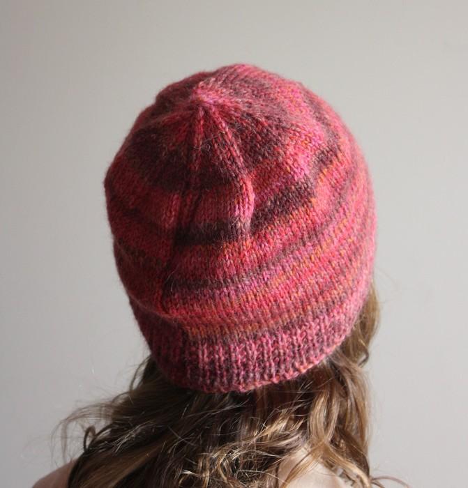 Fire - Warm Wool Alpaca WInter Beanie Hat