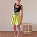 I Heart Top & Trieste Highwaisted Skirt