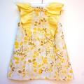 Lemon Kisses Party Dress ~ Sizes 1, 2, 3, 4 , 5