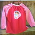 Art smock age 1 to 2 years (toddler) Dora.