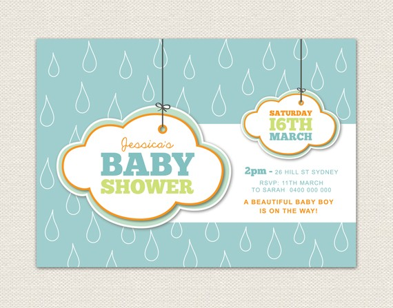 this adorable baby shower invitation listing is for a printable custom