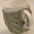 Mug Cozy - Pale Green
