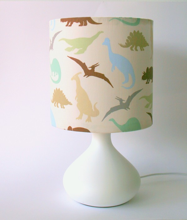 Dinosaur fabric table lamp and lampshade for boys room toddler dinosaur fabric table lamp and lampshade for boys room toddler room nursery mozeypictures Gallery