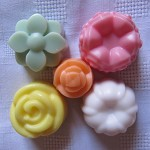 Beautiful Soy Wax Coloured & Scented Melts for candle burners Bonus-2 small melt