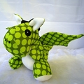 Elliot the Dragon (Made to Order)