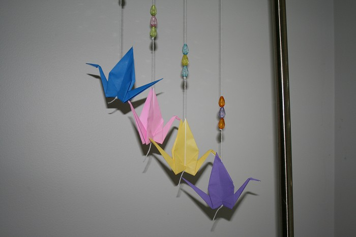 Origami Crane Decoration Origami Kid