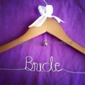 Bride Coat Hanger;wedding coat Hanger; Bride hanger; gift for bride
