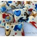 Dinosaur Bean Bag Set- 10pics