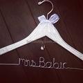 BLING Mrs Name Coat Hangers