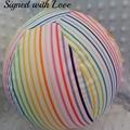 Balloon Ball Covers, Rainbow print, Basics Range, Great birthday present