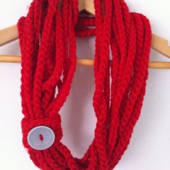 Crochet Chain Scarf/Necklace