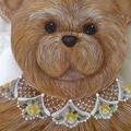 Painted Bear Coathanger