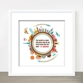 Travel Quote - The World is a book..- Cute travel print for you or a travel guru
