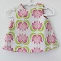 """""""Lotus Flower"""" Reversible open back dress"""