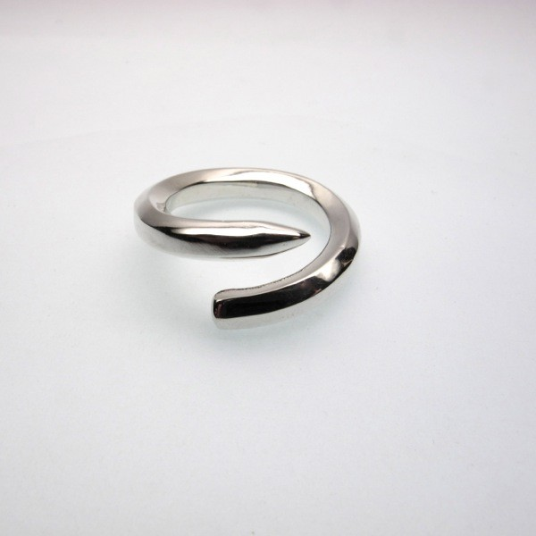 Sterling Silver Pencil Ring Annaig S Gemstudio Madeit