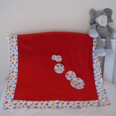 Snuggle blanket - red