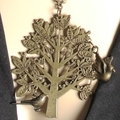 Bronze Tree of Life with Birds Pendant & Necklace + FREE GIFT BAG