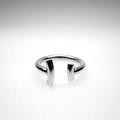 Sterling Silver Curves Ring