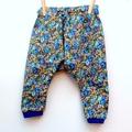 Girls floral harem pants Size 1.