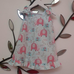 "Size 1 ""Elephant Parade""  Dress"