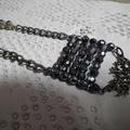 Tree of Wisdom SALE swarovski crystals sparkly necklace tree Abacus design