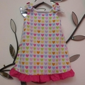"Size 2 - ""Multi Coloured Hearts"" Dress"