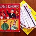 'Captain Kangaroo' Vintage Little Golden Book Bunting for Children.
