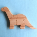 Wooden Jigsaw Puzzle Dinosaur