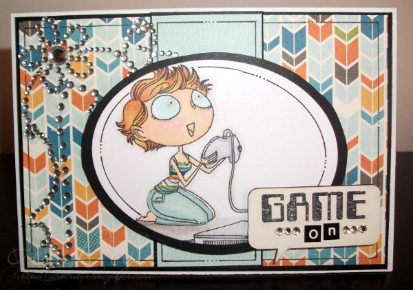 Birthday Card Handmade Teen Or Tween Gamer Girl Jessidee