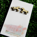 Buy 3 get 4th FREE Tas Oak Horse Earrings