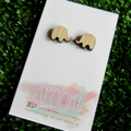 Buy 3 get 4th FREE Tas Oak Elephant Earrings