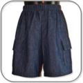 SIZE 4 Boys Light weight denim Shorts with side pocket