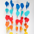 Custom Baby mobile - hot air balloon design