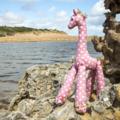 """""""Miss Polka-Dot"""" the giraffe"""