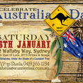 Australia Day Outback Party Invitation - DIY PRINTABLE FILE