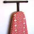Ironing Board Cover - Wallflower in Cherry Red Amy Butler