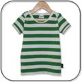 SIZE 3 Boys Green Stripe Lap Tee