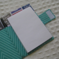 Notepad and  Pen Holder - Keep Calm Sewing - Gift