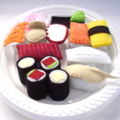 Felt Play Food: Sushi Set
