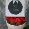 Christmas Card ~ Reusable Card Chalkboard-like