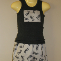 Size 1 boys army set,  Shorts & Singlet top