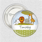 Name badges - Jungle medium badge
