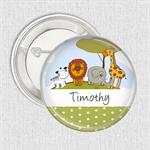 Name badges - Jungle medium badge