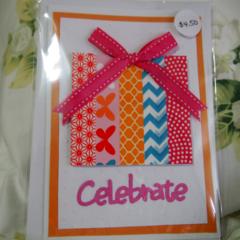 Handmade Celebrate Card