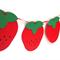 Strawberry Garland. Birthdays, baby shower, nursery decor, high chair, bunting.