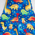 Kids Apron Dinosaurs - lined kitchen/play apron with pocket