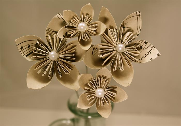 Handmade Paper Flowers For Vase How To Make A Flower Diy Very Easy