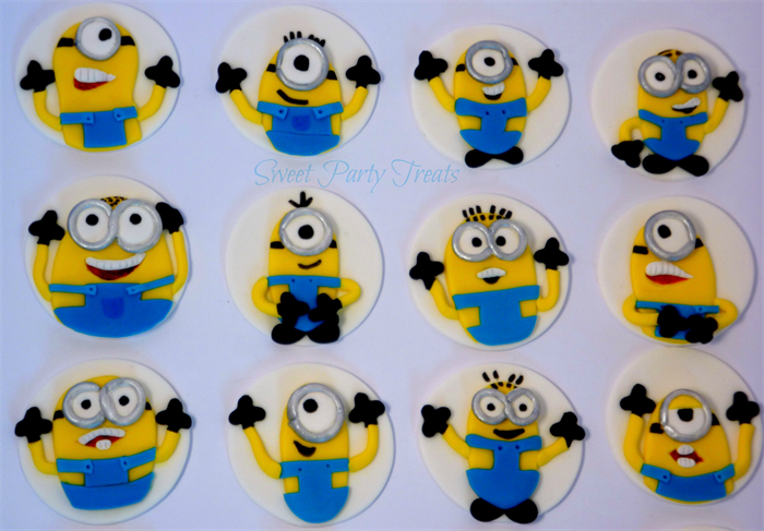 Buy Minion Cake Toppers