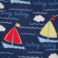 Size 4 Boys Shorts - Happy Sailing