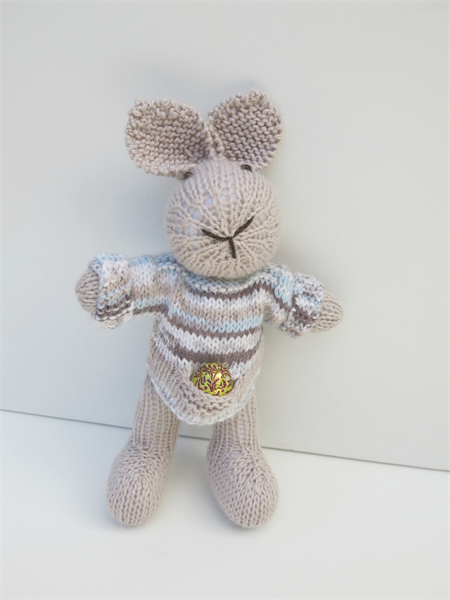 Hamish the Knitted Easter Bunny Rabbit  Toy